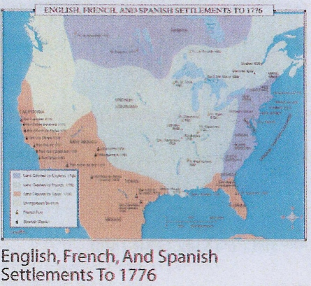 spanish and english settlement of america