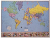 Hammond Collectors World Wall Map