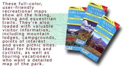 Hiking & recreation maps of the Canadian Rockies