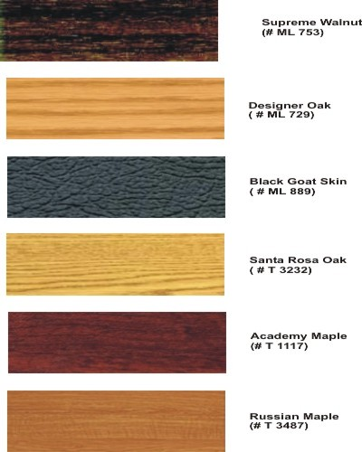 Custom Finishes Available on the Standard Geochron